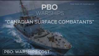 How much more will Canada's warships cost?