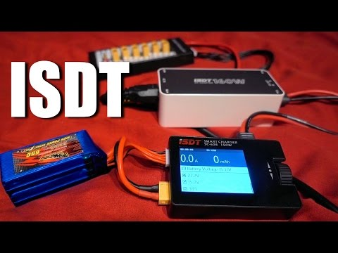 ISDT SC-608 + ISDT CP-16027 160W Power Supply