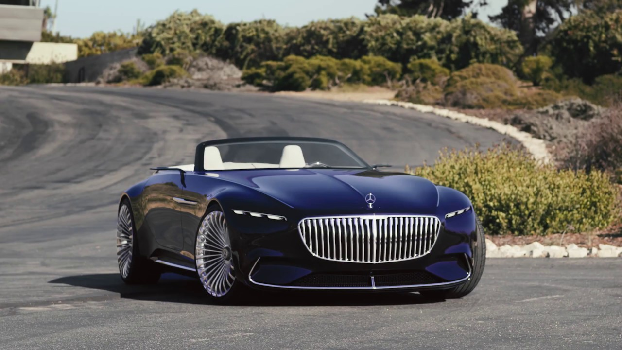 vision mercedes-maybach 6 cabriolet - youtube