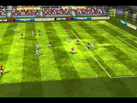 FIFA 13 iPhone/iPad - Manchester Utd vs. Real Madrid