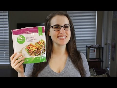 Simple Truth Meatless Crumbles Taste Test