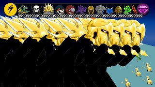 STICK WAR LEGACY - MOD HACK UNLIMITED GIANTS GOLDEN ARMY 9999999999999999