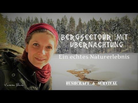 Bergseetour mit Übernachtung im Schnee - Ein Naturerlebnisfilm