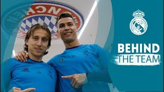 FC Bayern vs Real Madrid: Arrival in Munich and training