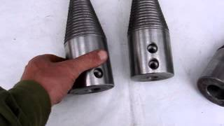 видео Конус для дровокола своими руками или на заказ