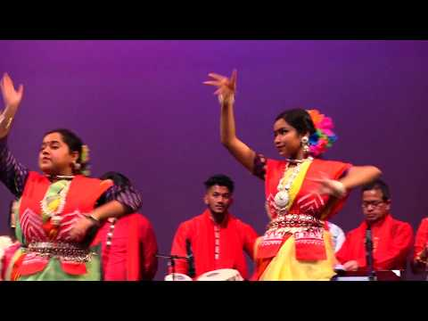 Udichi Newyork USA 2018(8) Pohela Boishakh Celebration at Columbia University