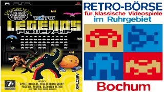 Taito Legends Power-Up | PSP/Gameplay/Full HD | Special zur Retrobörse in Bochum