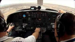 Denver Colorado - high altitude take off in a Citation V jet.