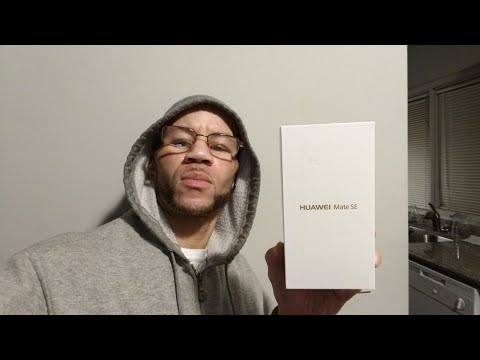Huawei Mate SE Unboxing. The Government warns us