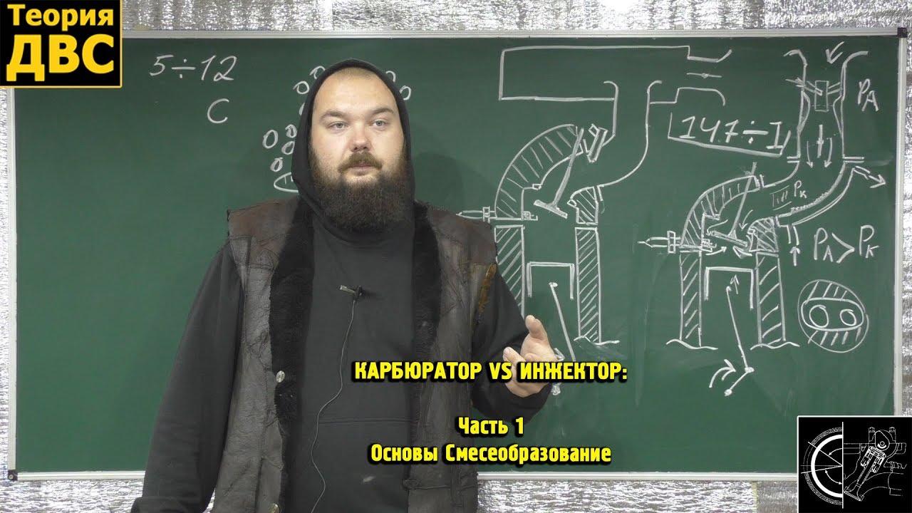 КАРБЮРАТОР VS ИНЖЕКТОР: Часть 1 - Основы Смесеобразование