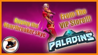 [Paladins]Buying Heartbreaker Skye from the VIP Store!!!