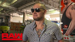 Constable Baron Corbin and Finn Bálor to be in action tonight: Raw Exclusive, Aug. 13, 2018