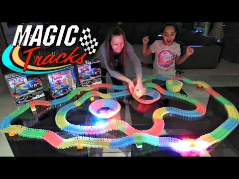 Thumbnail: Crazy Car Magic Tracks Toy Challenge Games - They Glow In The Dark | Famtastic
