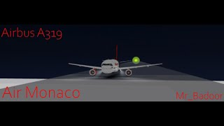 [ROBLOX] Air Monaco | Airbus A319 FLIGHT