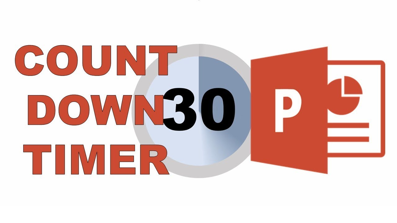 30 second countdown timer in PowerPoint - YouTube