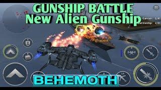 Gunship Battle : BEHEMOTH Alien Gunship