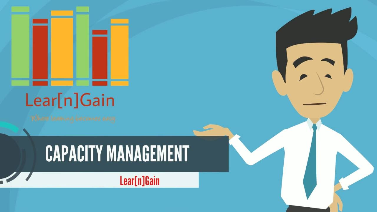 capacity management Itil capacity management is responsible for ensuring the capacity of it  infrastructure matches the evolving demands of the business in the most cost- effective.