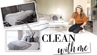 WHOLE HOUSE CLEAN AND TIDY WITH ME | MESSY TO CLEAN | MOTIVATION