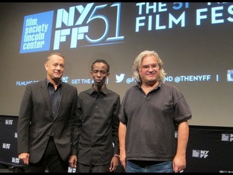 "NYFF51:  ""Captain Phillips"" Press Conference 