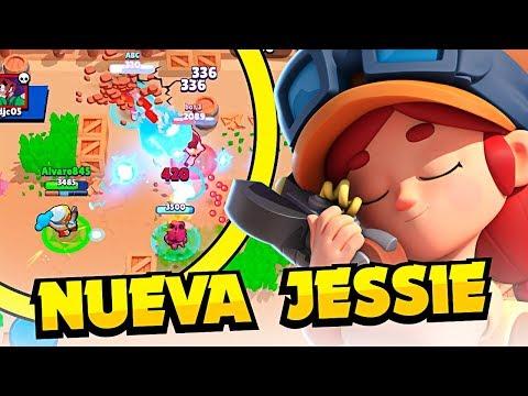 PRIMER BRAWLER A 600 COPAS ¡¡LA NUEVA JESSIE ESTÁ ROTA!! | Brawl Stars