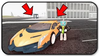 Getting My First Super Car The Lamborghini Veneno - Roblox Vehicle Simulator