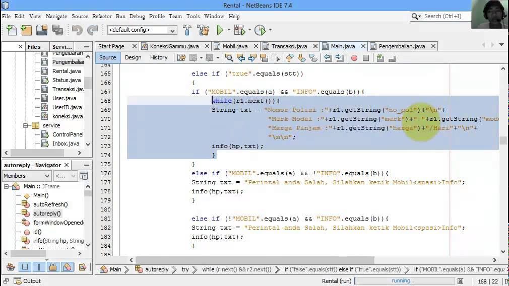 Sistem Informasi Rental Mobil Berbasis Mobile dengan Java ...