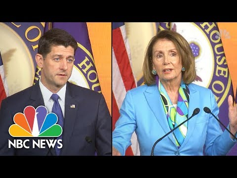 Immigrant Families Separated: Ryan Calls For Law Change, Pelosi labels policy 'Barbaric' | NBC News