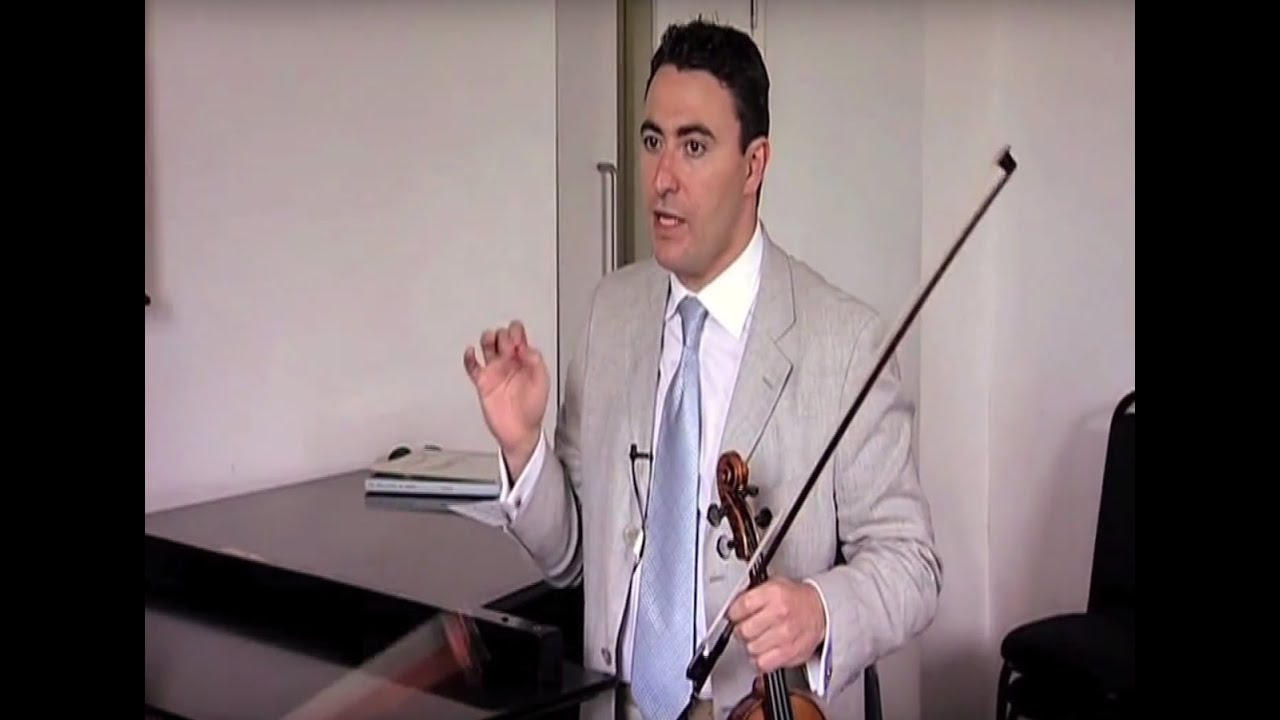 Vengerov On Accents In Mendelssohn's Violin Concerto In E Minor