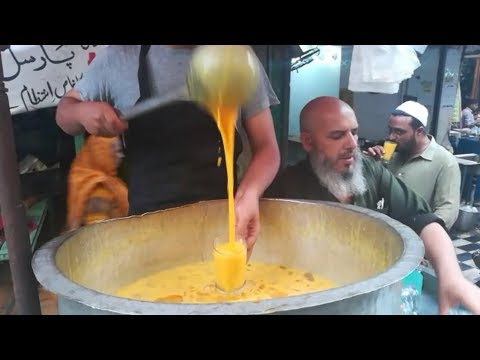 Mango Juice | ICE MANGO SHAKE | Street Food Of Karachi Pakistan