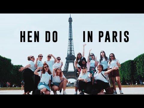 MY HEN DO IN PARIS