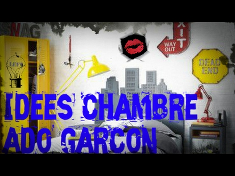 Id es d co de chambre ado gar on youtube for Chambre garcon