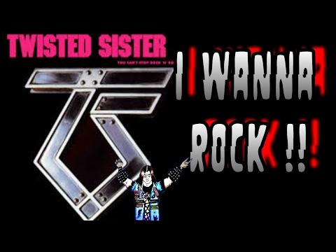 Twisted Sister - I Wanna Rock ( Subtítulos En Ingles y Español )