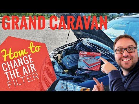 how-to-replace-air-filter-dodge-grand-caravan-3.6l-2012-2020