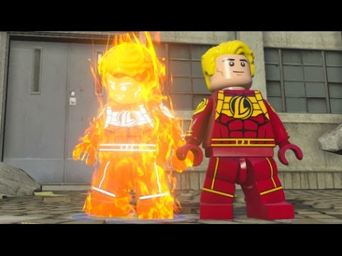 LEGO Marvel's Avengers - Human Torch Unlock + Free Roam (Character Showcase)