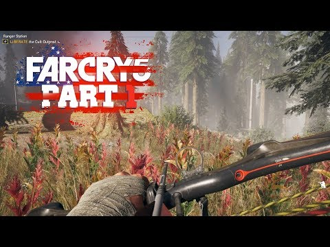 Far Cry 5 - Part 1 - THE BEGINNING (Let's Play / Walkthrough / PS4 Pro Gameplay)