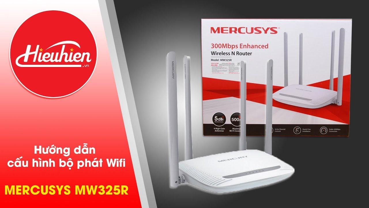Hướng dẫn đổi tên và mật khẩu WiFi Mercusys✅MERCUSYS MW325R [Hieuhien.vn]