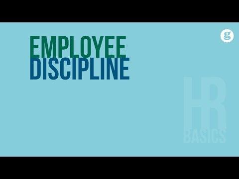 HR Basics: Employee Discipline
