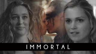 ► clarke + lexa | immortal