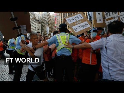 Macau's casino workers demand better conditions | FT World