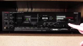 Luxman K-109 - Very Rare Cassete Deck. Video #1