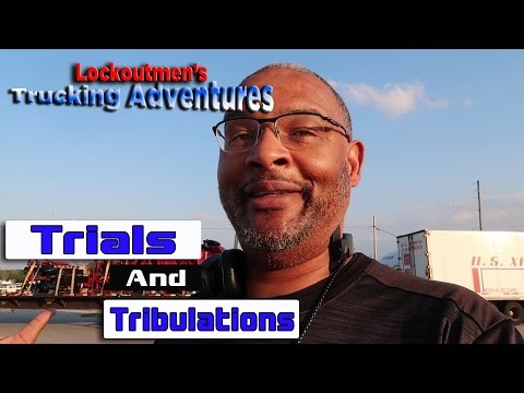 "Trucking Adventures Ep #1 ""Trials and Tribulations"" w/ us xpress #usxpress"