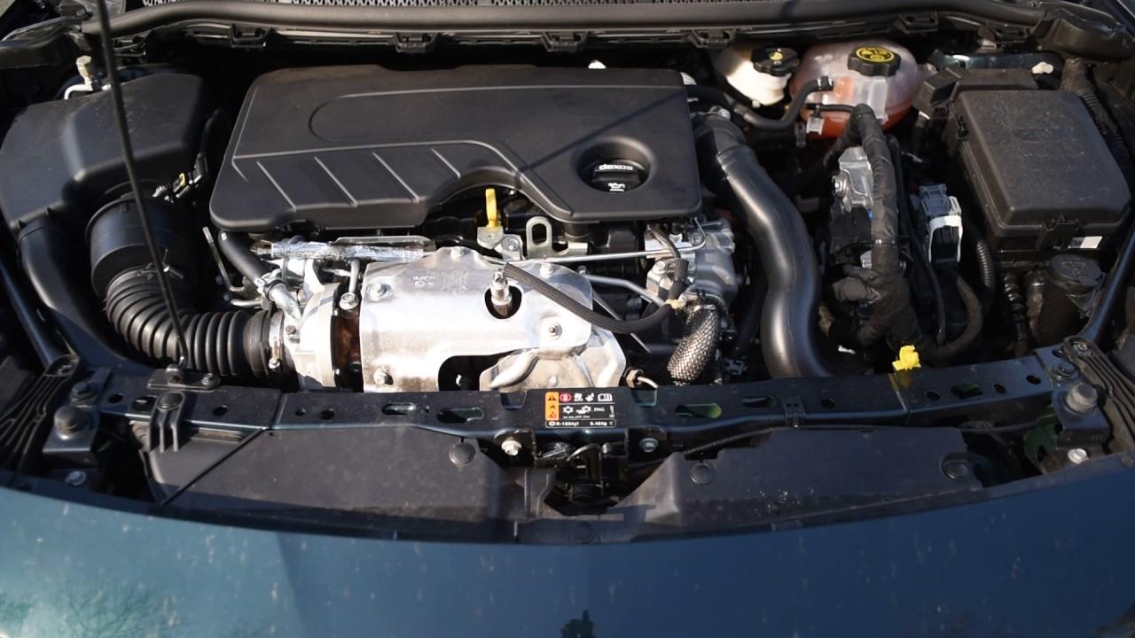 Opel Astra K 2016 1 6 Cdti B16dtu Engine Startup Running And Shutdown Youtube