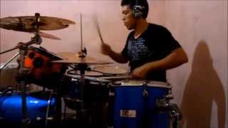 Henrique & Diego - Ressaca de Amor Passa - LP-Batera ®  Drum Cover HD