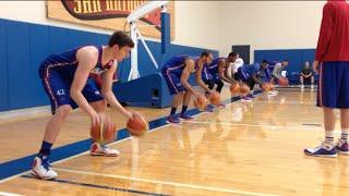 Peek Inside KU Basketball Practice