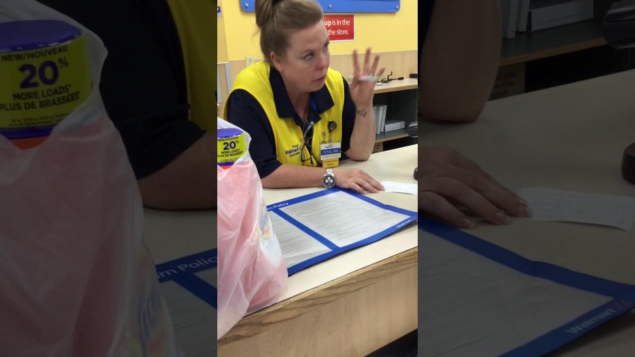Walmart Loss prevention harassment