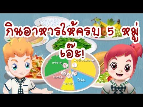 วิทยาศาสตร์ ป.6 อาหาร 5 หมู่ Food group(Life Science) EP43 ตอน กินอาหารครบ5หมู่ เอ๊ะ