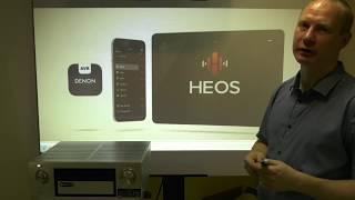 9.2 канальный AV-ресивер Denon AVR-X4300H: HEOS мультирум и кинотеатр Dolby Atmos в вашем доме!