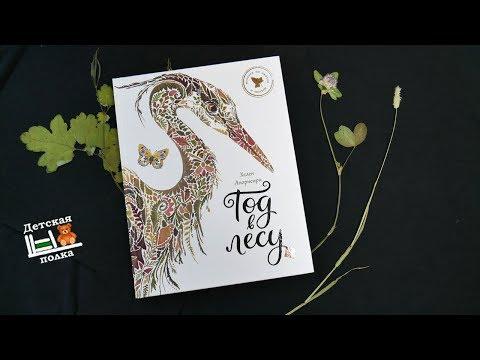 Книга гербарий: Год в лесу. Хелен Апорнсири 3+ | Детская книжная полка