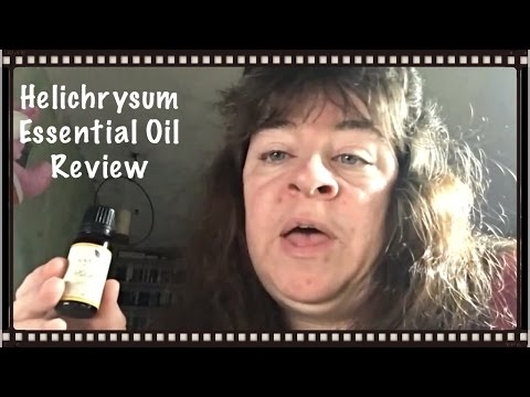 Natural Acres Helichrysum Essential Oil Review