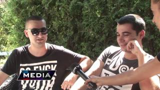 ORV+: Vladin & Angel Kunev представят техно видео с участието на Saffrona(Vladin представя пред ORV+ новият си техно проект